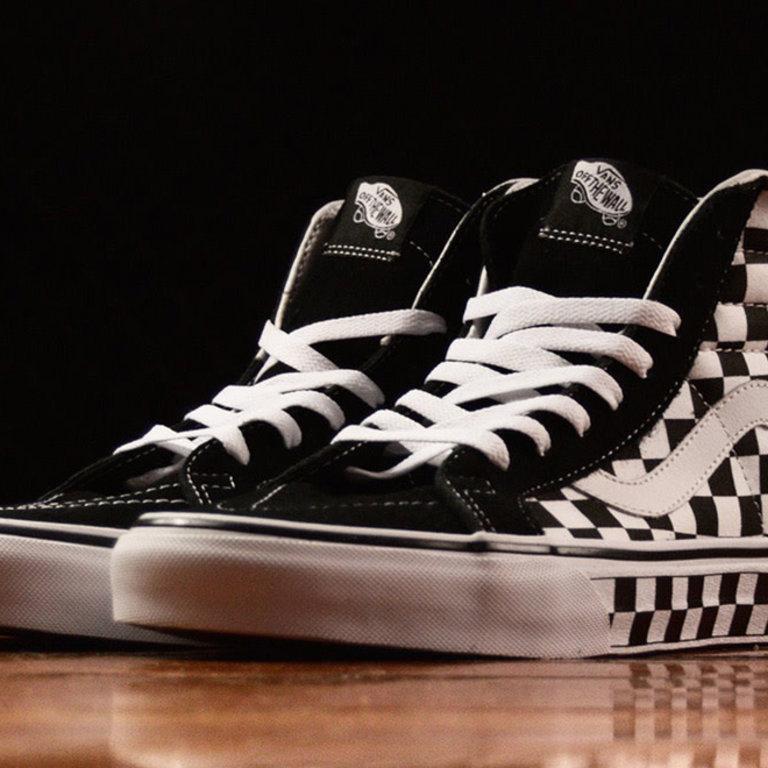 SK8 Hi Reissue Checkerboard - Eight One