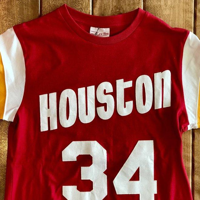 Mitchell /& Ness Houston Rockets D/ébardeur Rouge Homme Dazzle