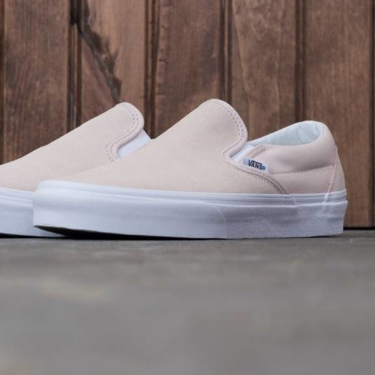 7458e53d2c638b Classic Slip-On Suede Sepia Rose - Eight One
