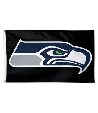 Wincraft Wincraft Seattle Seahawks Deluxe Flag 45315117 Black