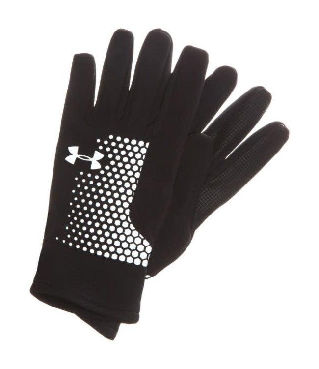 FREE POSTAGE Under Armour Mens Threadborne Run Gloves New style 1298515