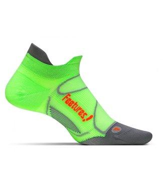 Feetures Feetures Wmns Elite Ultra Light No Show Tab E550262 Citron Electric Orange