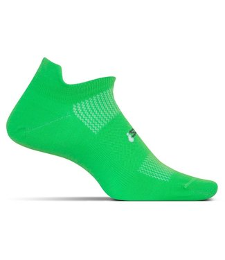 Feetures Feetures Wmns Ultra Light Cushion No Show Tab FA55952 Electric Green Medium