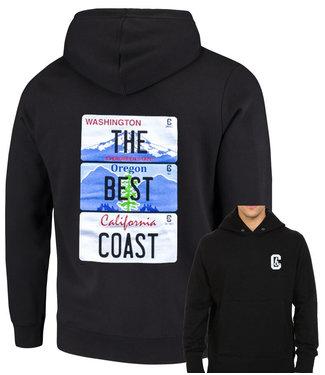 Cultural Blend Cultural Blends Mens The Best Coast Hoodie
