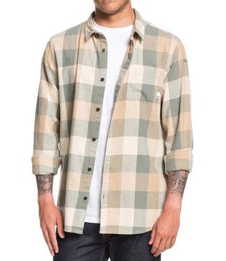 Quiksilver Quiksilver Mens Motherfly Flannel Shirt EQYWT03918 GZC1