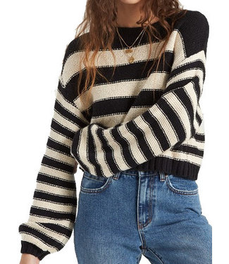 Billabong Billabong Wmns Seeing Stripes Sweater JV033BSE BLK