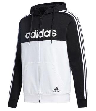 Adidas Adidas Mens Essentials Colorblock Hooded Track Jacket GD5503