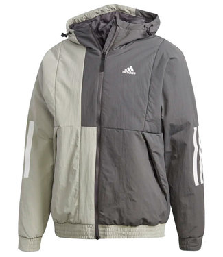 Adidas Adidas Mens Back to Sport Insulated Hooded Jacket FT2448