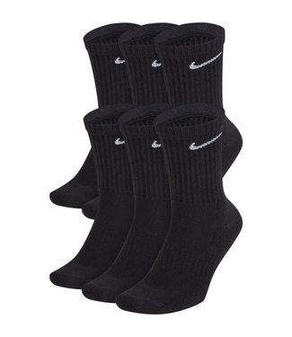 nike Nike Everyday Cotton Cushioned Crew 6 pack SX7666 010