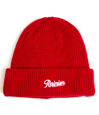 Casual Industrees Casual Industrees Mens Rainier Year VII Beanie Red