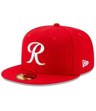 New Era New Era Mens Tacoma Rainier Red 5950 MILB Authentic Hat