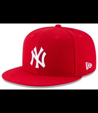 New Era New Era New York Yankees Red Snapback 11941921
