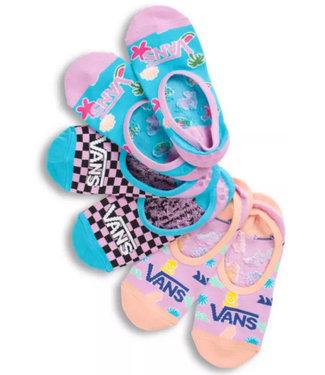 Vans Vans Wmns Canoodle 3PK No-Show Socks VN0A5DOT448