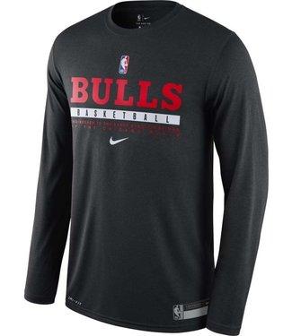nike Nike Mens Chicago Bulls Long Sleeve CK8300 010