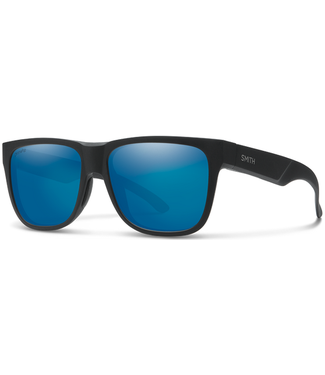 Smith Smith Lowdown 2 Matte Blk Chromapop Blue Mirror 20094100356QG