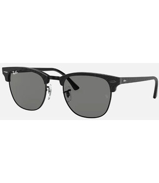 Ray Ban Ray Ban Clubmaster Wrinkled Black on Black 0RB3016