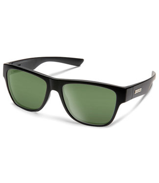 Suncloud Suncloud Redondo Matte Black Polar Green Lens