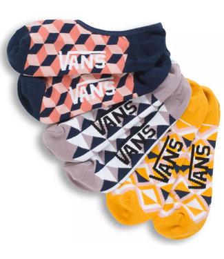 Vans Vans Wmns 6.5-10 3PK Geo Socks VN0A512G448