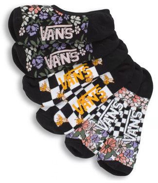Vans Vans Wmns 6.5-10 3PK Garden Socks VN0A512L448