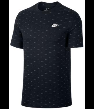 nike Nike Mens NSW SS Tee Mini Swoosh CV5590 010