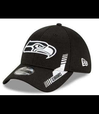 New Era New Era  Mens  Seahawks  2021 NFL Sideline Home 39THIRTY  – Black