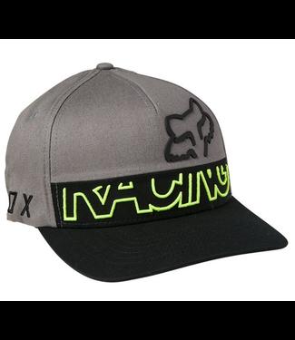 Fox Fox Mens Skew Flexfit Hat BLK 28338 001