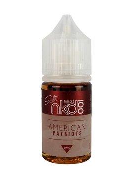 Naked 100 salt American Patriot SALT