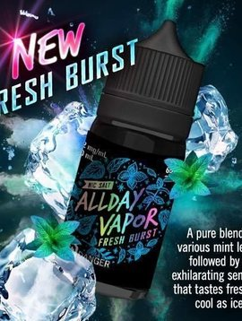 All Day Vapor Fresh Burst SALT