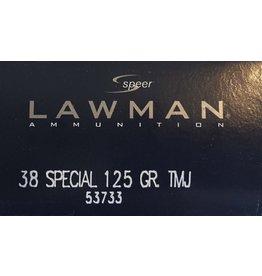 Speer Speer Lawman 38 Special, 125 Gr