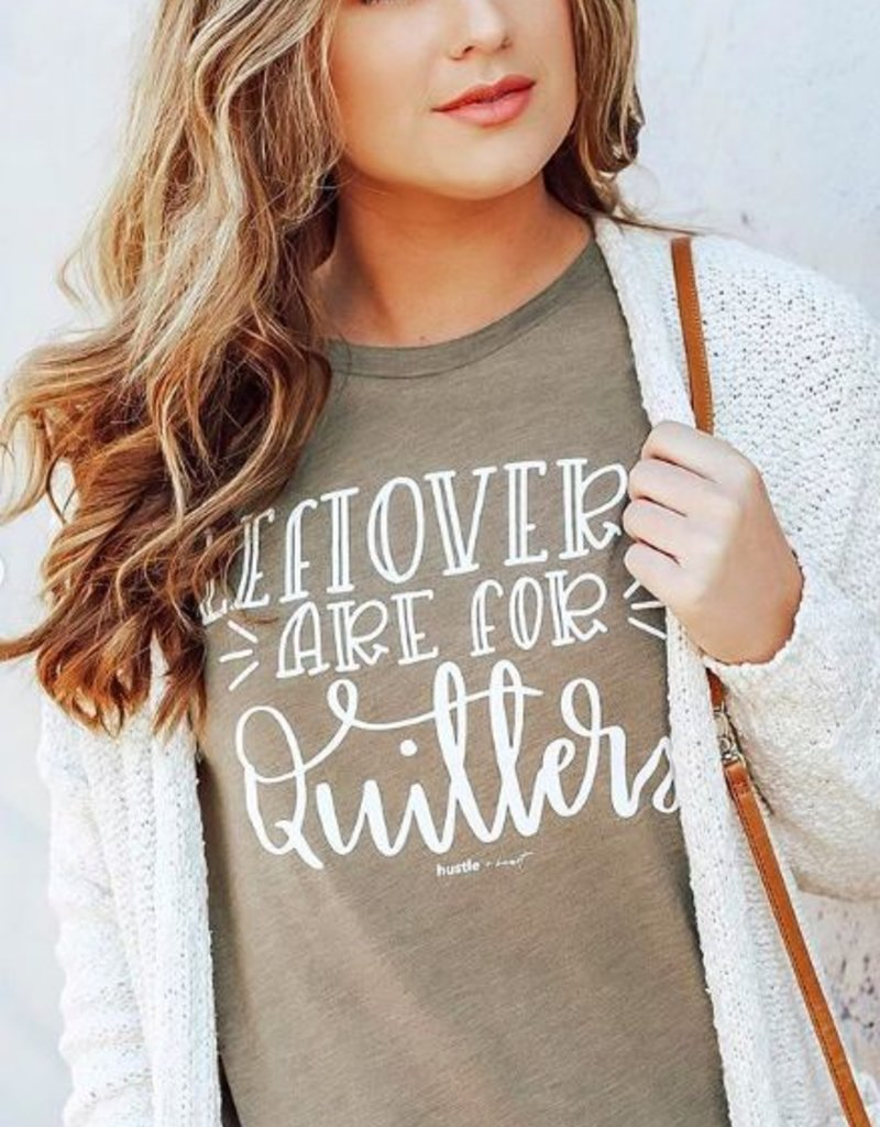 "LUXE ""Leftovers Are For Quitters"" Graphic Tee"