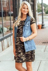 LUXE Trend Alert Camo Dress