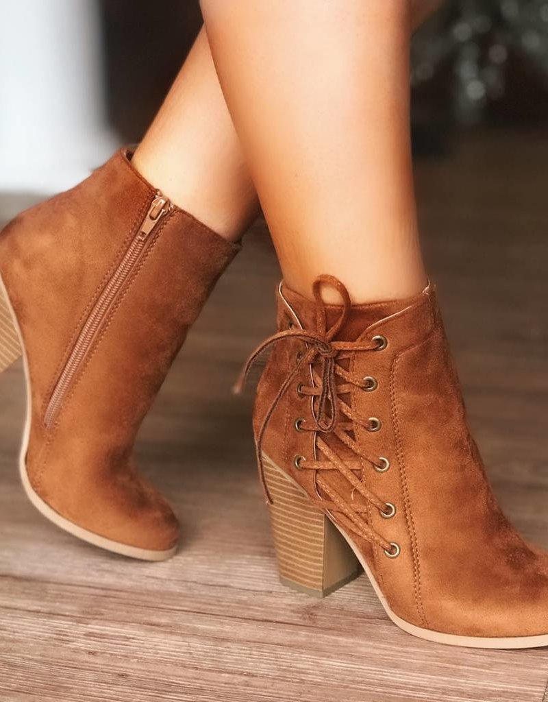 LUXE Kick Into Gear Ankle Bootie