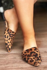 LUXE Simply Stated Leopard Mule
