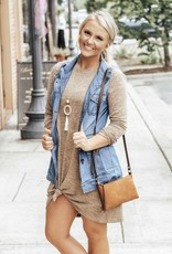 LUXE Chambray All Day Vest