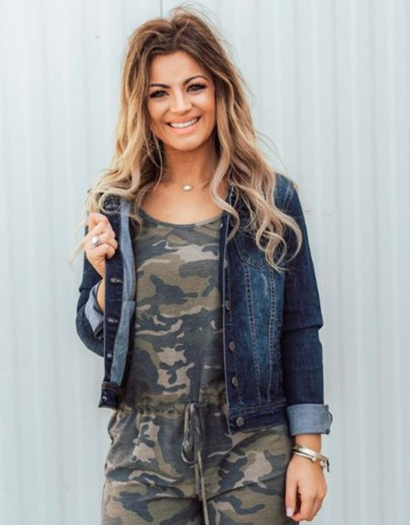 LUXE Keeping it Classic Denim Jacket