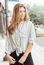 LUXE The Only One Striped Top