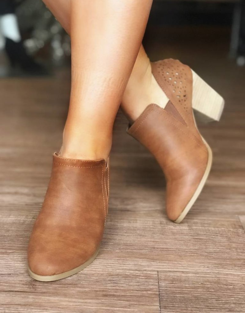 LUXE Take Them Anywhere Tan Bootie