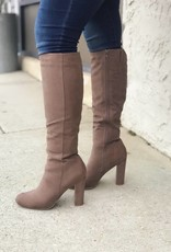 LUXE Slaying Everyday Taupe Tall Boot