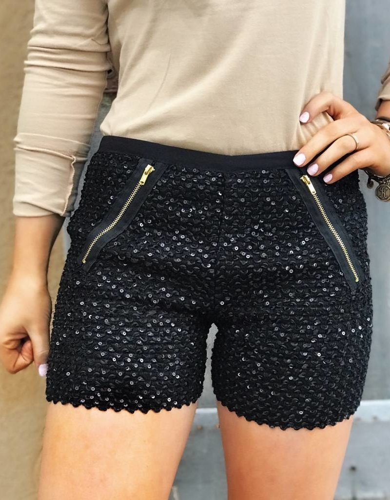LUXE Keeping it Sassy Sequin Short