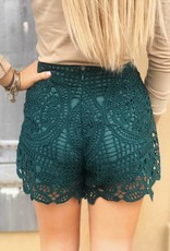 LUXE Show It Off Lace Shorts