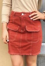 LUXE New Beginnings Mini Skirt