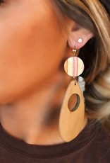 LUXE Showing Them Off Wooden Earring
