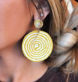LUXE LIfe's A Swirl Statement Earring