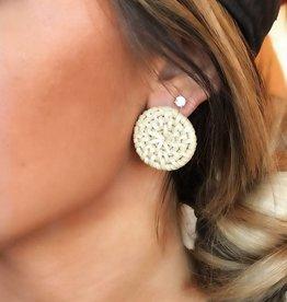 LUXE Simple In Studs Wicker Earring