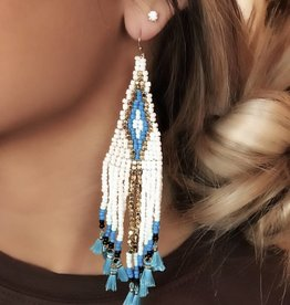 LUXE Tribe Trip Statement Earring
