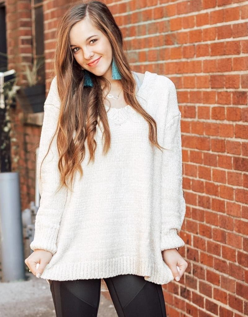 LUXE The Sky's the Limit Sweater