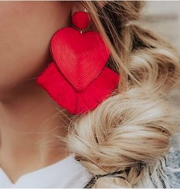 LUXE Feeling The Love Statement Earring