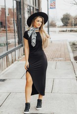 LUXE Boho Babe Midi Dress