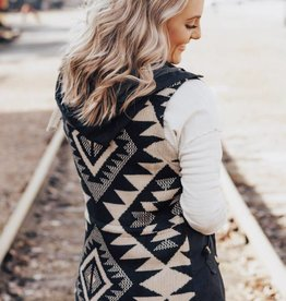 LUXE We're Chasing Forever Aztec Vest