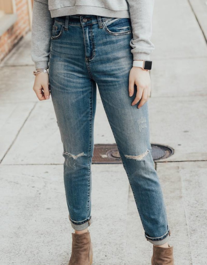 LUXE Classic Everyday Medium Wash Jean